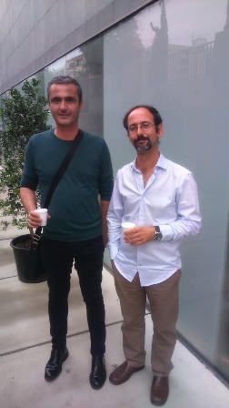 Felipe Rebull y Ramón Gomar