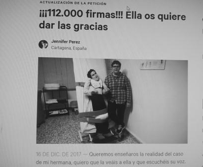 UNA NAVIDAD PARA PEDIR EXPLICACIONES AL GOBIERNO DE MURCIA.