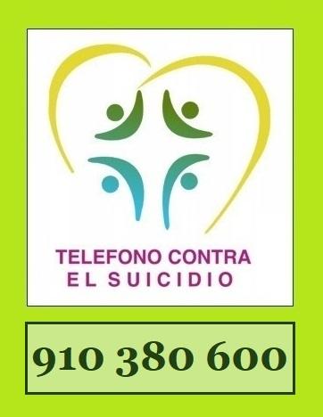 TELÉFONO CONTRA EL SUICIDIO.