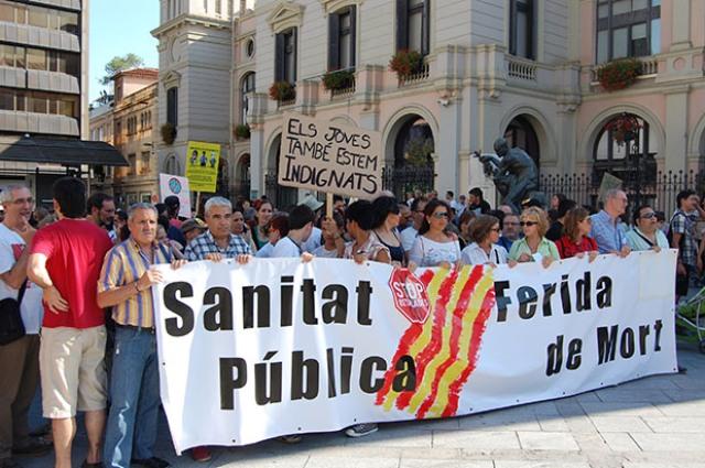 CATALUÑA, LA COMUNIDAD QUE MENOS INVIERTE EN SANIDAD, MENOS DEL 27 % QUE EN EL AÑO 2009