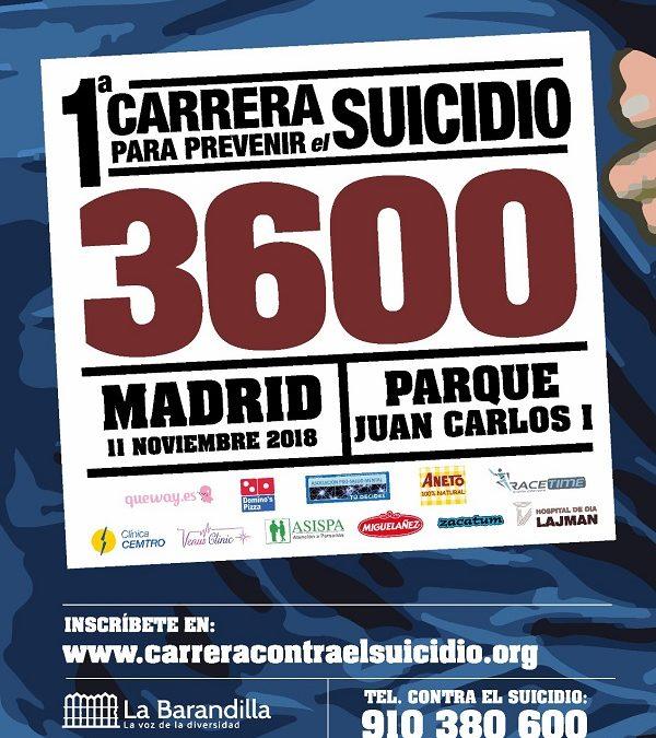 ¡ VAMOS A BAJAR LAS CIFRAS DE 3600 SUICIDIOS !