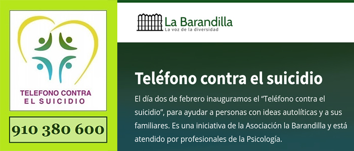 La nueva Ministra no está tan concienciada con la prevención del suicidio.