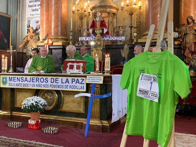 EN LA IGLESIA DE SAN ANTÓN SE REZA POR LA PREVENCIÓN DEL SUICIDIO