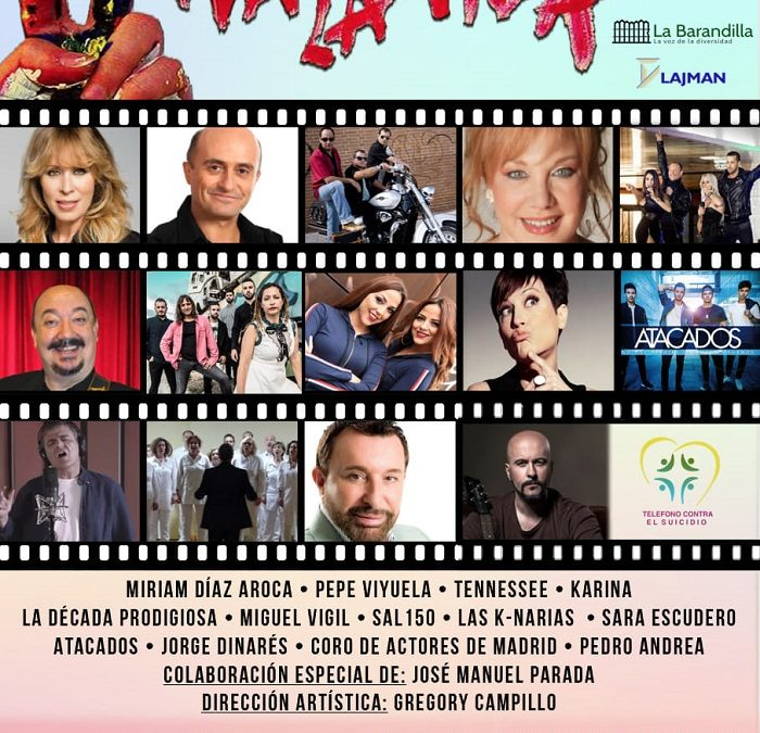 Os esperamos en esta Gala Solidaria para dar visibilidad al drama del suicidio en España