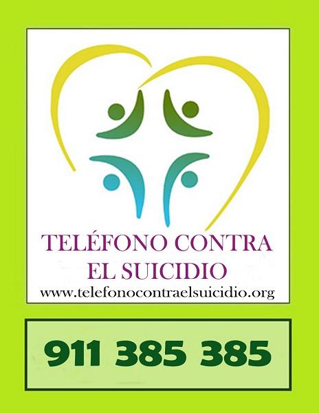 CRECE EL TELÉFONO CONTRA EL SUICIDIO.