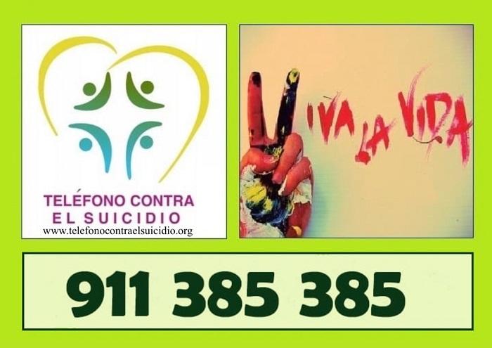 ESTE ES EL NÚMERO DEL TELÉFONO CONTRA EL SUICIDIO EN ESPAÑA.