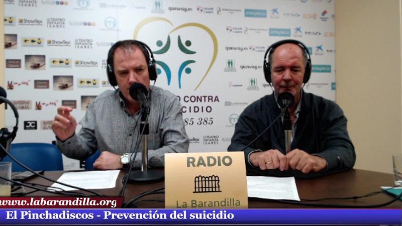 El pinchadiscos «Especial prevención suicidio»