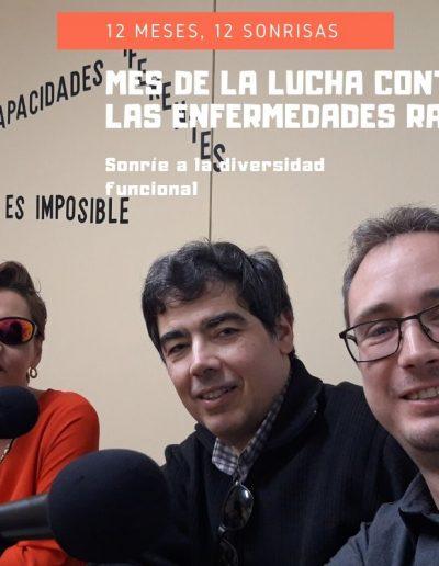 Yolanda Asenjo y Alfonso Made ANIRIDIA y David Catalán de SÍNDROME 1p36
