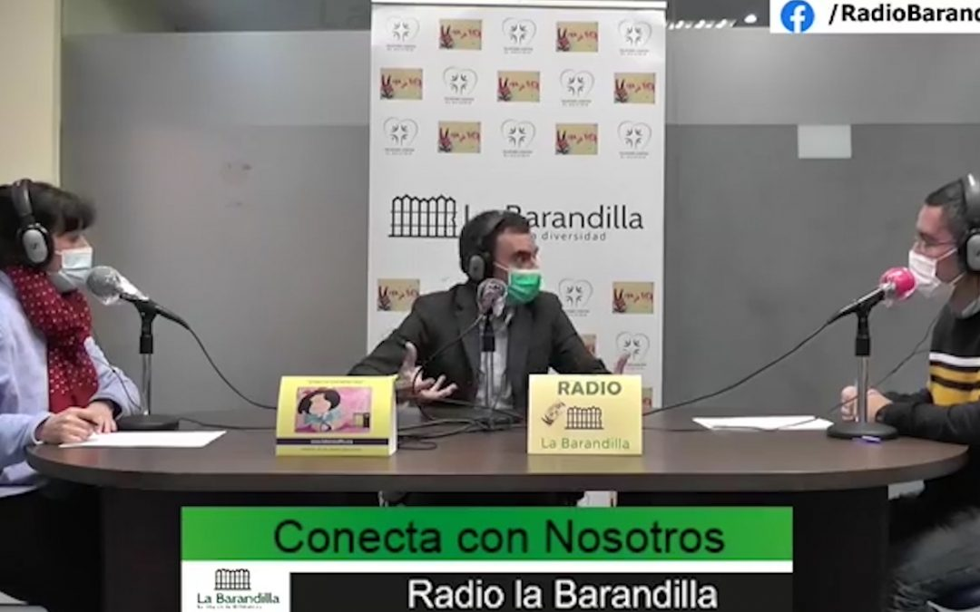 OSCAR ALVAREZ VISITA EL PROGRAMA «CONECTA CON NOSOTROS»