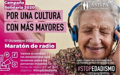 MARATÓNDE RADIO POR LAS PERSONAS MAYORES.