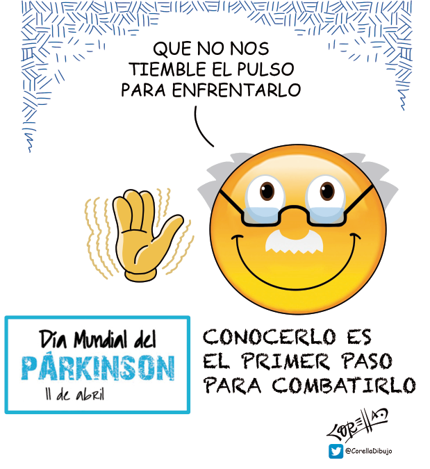 EL 11 DE ABRIL SE CONMEMORA EL DÍA MUNDIAL DEL PARKINSON.
