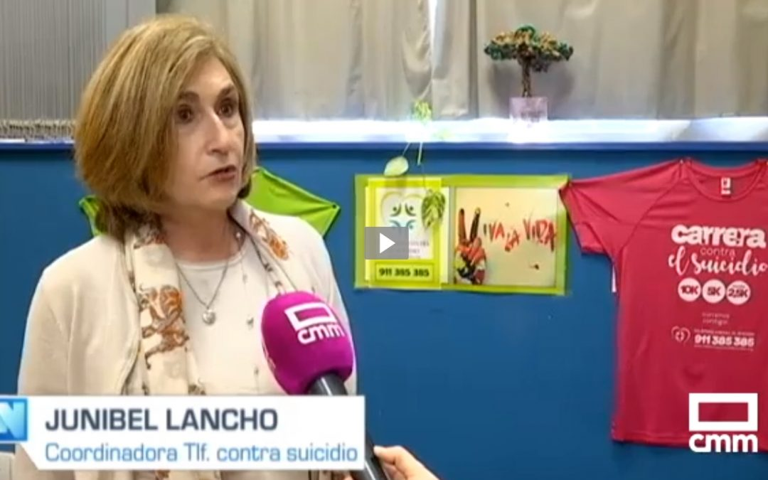 El proyecto de la Asociación la Barandilla denominado TELÉFONO CONTRA EL SUICIDIO es un referente para muchas televisiones